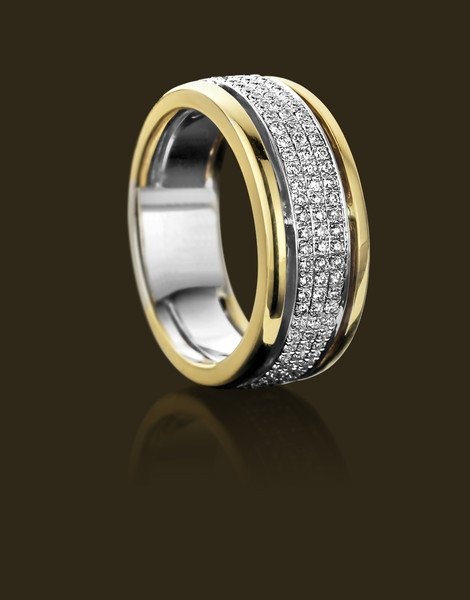 Ring in goud 18 karaat
