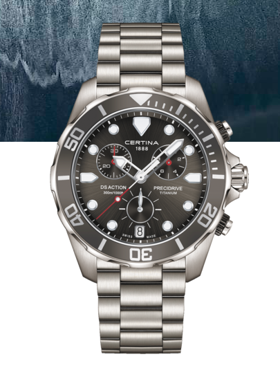 DS Action Chronograph titanium